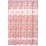 Sweet JoJo Designs Camo Pink Shower Curtain