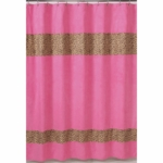 Sweet JoJo Designs Cheetah Girl Shower Curtain