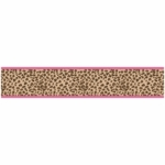Sweet JoJo Designs Cheetah Girl Wall Border