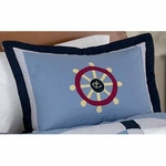Sweet JoJo Designs Come Sail Away Pillow Sham