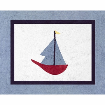 Sweet JoJo Designs Come Sail Away Rug