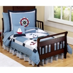 Sweet JoJo Designs Come Sail Away Toddler Bedding Set
