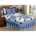 Sweet JoJo Designs Come Sail Away Twin Bedding Set