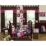Sweet JoJo Designs Cowgirl 9 Piece Crib Bedding Set