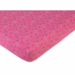 Sweet JoJo Designs Cowgirl Crib Sheet in Pink Bandana Print