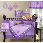 Sweet JoJo Designs Danielle's Daisies 9 Piece Crib Bedding Set