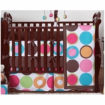 Sweet JoJo Designs Deco Dot 11 Piece Crib Bedding Set