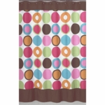 Sweet JoJo Designs Deco Dot Shower Curtain