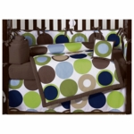 Sweet JoJo Designs Designer Dot 9 Piece Crib Bedding Set