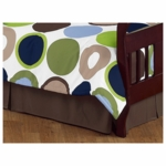 Sweet JoJo Designs Designer Dot Toddler Bed Skirt