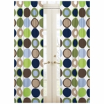 Sweet JoJo Designs Designer Dot Window Panels
