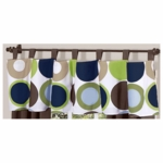 Sweet JoJo Designs Designer Dot Window Valance