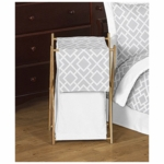 Sweet JoJo Designs Diamond Gray & White Hamper