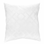 Sweet JoJo Designs Diamond White Decorative Throw Pillow