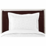 Sweet JoJo Designs Diamond White Pillow Sham