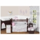 Sweet JoJo Designs Elizabeth Grey & Pink 9 Piece Crib Bedding Set