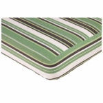 Sweet JoJo Designs Ethan Crib Sheet Stripe Print