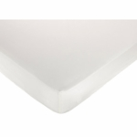 Sweet JoJo Designs Eyelet White Crib Sheet