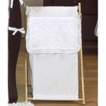 Sweet JoJo Designs Eyelet White Hamper