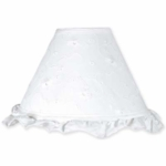 Sweet JoJo Designs Eyelet White Lamp Shade
