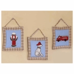 Sweet JoJo Designs Firetruck Wall Hangings