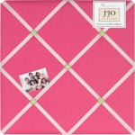 Sweet JoJo Designs Flower Pink and Green Memo Board