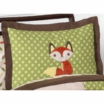 Sweet JoJo Designs Forest Friends Pillow Sham