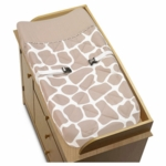 Sweet JoJo Designs Giraffe Changing Pad Cover