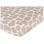 Sweet JoJo Designs Giraffe Crib Sheet in Animal Print