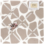 Sweet JoJo Designs Giraffe Fabric Memo Board