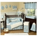 Sweet JoJo Designs Go Fish 9 Piece Crib Bedding Set