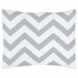 Sweet JoJo Designs Gray & White Chevron Pillow Sham