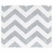 Sweet JoJo Designs Gray & White Chevron Rug