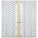 Sweet JoJo Designs Gray & White Chevron Window Panels - Set of 2