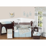 Sweet JoJo Designs Hayden 9 Piece Crib Bedding Set