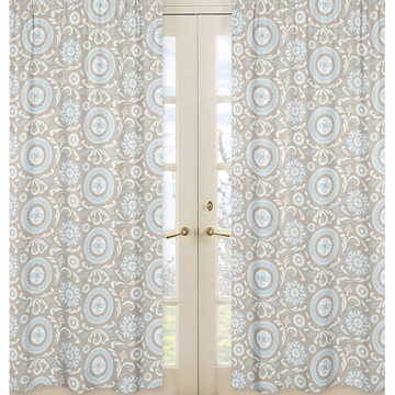 Sweet JoJo Designs Hayden Print Window Panels - Set of 2