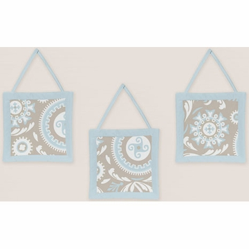 Sweet JoJo Designs Hayden Wall Hangings