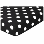 Sweet JoJo Designs Hot Dot  Crib Sheet in Polka Dot Print