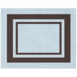 Sweet JoJo Designs Hotel Blue & Brown Rug