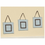 Sweet JoJo Designs Hotel Blue & Brown Wall Hangings