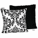 Sweet JoJo Designs Isabella Black & White Decorative Throw Pillow