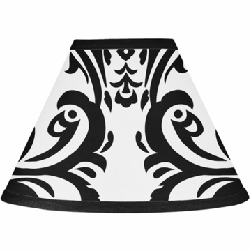 Sweet JoJo Designs Isabella Black & White Lamp Shade