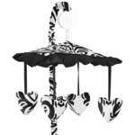 Sweet JoJo Designs Isabella Black & White Musical Mobile