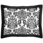 Sweet JoJo Designs Isabella Black & White Pillow Sham