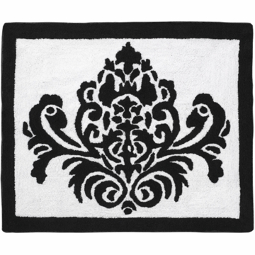 Sweet JoJo Designs Isabella Black & White Rug