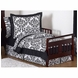 Sweet JoJo Designs Isabella Black & White Toddler Bedding Set