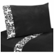 Sweet JoJo Designs Isabella Black & White Twin Sheet Set