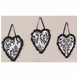 Sweet JoJo Designs Isabella Black & White Wall Hangings
