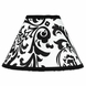 Sweet JoJo Designs Isabella Hot Pink, Black & White Lamp Shade