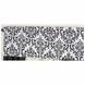 Sweet JoJo Designs Isabella Hot Pink, Black & White Window Valance